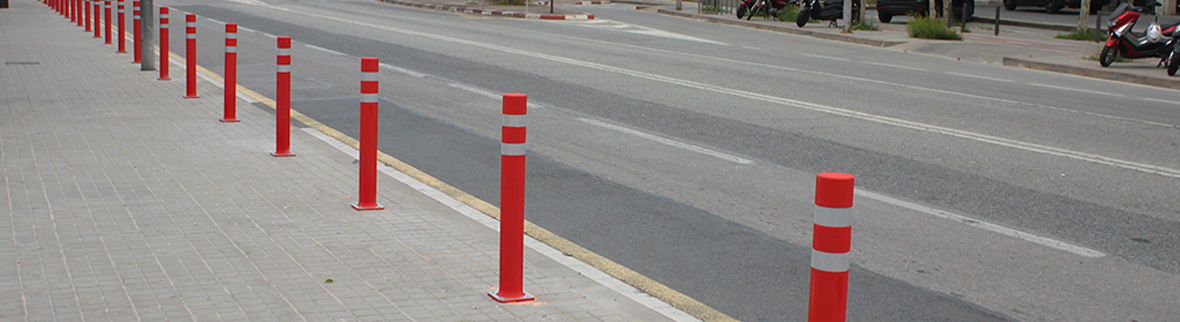 Leading company in the flexible bollards sector