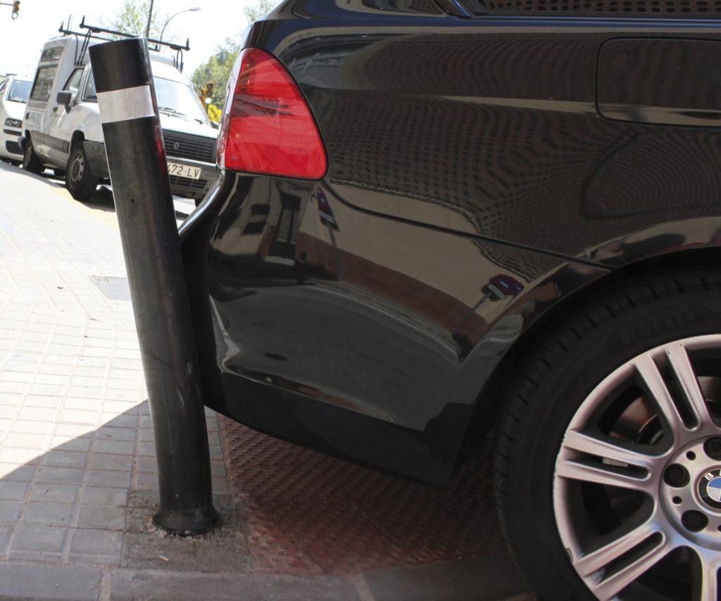 Prueba flexibilidad pilona semi flexible A-Eco