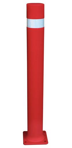 Dissuasori flessibili A-Flex B con piastra rosso